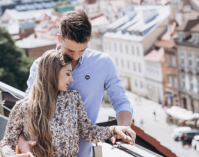 A Rooftop Love Story in Kazimierz
